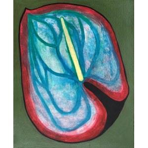 Jolanta Johnsson (ur. 1955), Kwiat 4, z serii: Kwiaty w czerni, 1998-2021