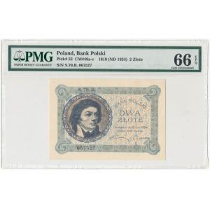 2 złote 1919 - S.70.B. - wyśmienity stan zachowania