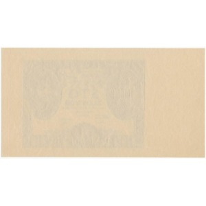 100 złotych 1934 - druk główny awersu w kolorze niebieskim - rzadkośc