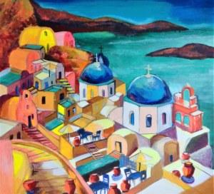 Magdalena Kurek, ''Sjesta na Santorini''