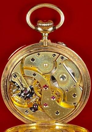Złoty zegarek kieszonkowy