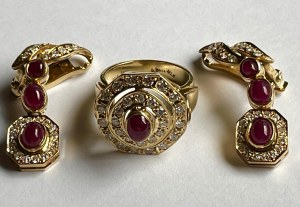 Garnitur biżuterii