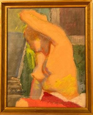 Kazimierz Wiktor Holler(1881-1975),''AKT KOBIECY''
