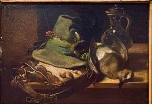 SCHÖDL MAX (1834-1879), ''Po polowaniu''