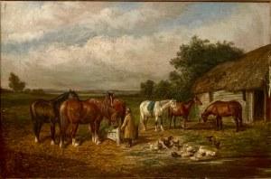 SAMUEL JOSEPH CLARK, ''W wiejskiej zagrodzie''