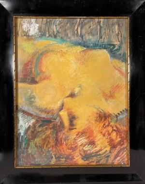 Kazimierz Wiktor Holler(1881-1975), ''AKT KOBIECY''