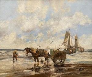 Willem George Frederik JANSEN(1871-1949),''Poszukiwacz muszli''