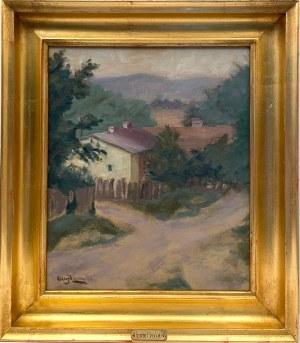 Henryk Hayden(1883-1970), ''PEJZAŻ Z PROWANSJI''