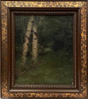 Enrique SERRA (1859-1918),''Brzozy nad strumykiem''