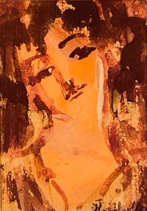 Kazimierz Wiktor Holler,''Portret kobiety''