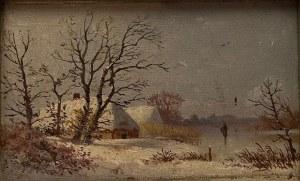 Stanisław Nawara, ''Wieś w zimie''