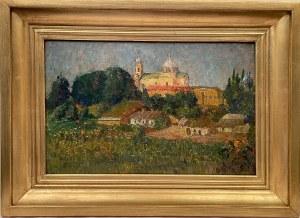 Iwan Trusz (1869-1941),''Klasztorne wzgórze''