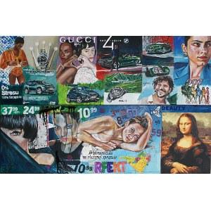 Ilona Foryś, Magazine Collage10, Dyptyk, 2021