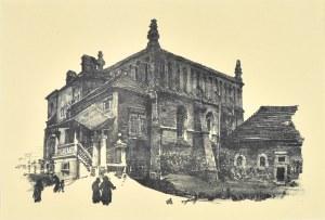 Jan Kanty GUMOWSKI (1883-1946), Stara synagoga na Kazimierzu