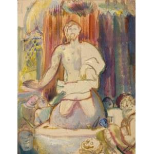 Kasper POCHWALSKI (1899-1971), Chrystus Zmartwychwstały, 1932