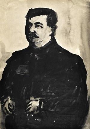 Marian MALINA (1922 - 1985), Portret górnika