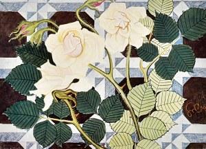 Stanisław WYSPIAŃSKI(1869-1907), Róże, projekt do polichromji, 1903