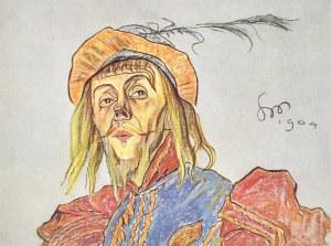 Stanisław WYSPIAŃSKI(1869-1907), L. Solski jako
