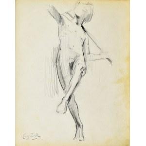 Eugeniusz ZAK (1887-1926), Studium rzeźby nagiego mężczyzny (Paryż)