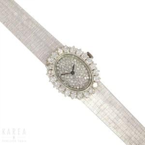 Zegarek biżuteryjny, Francja, XX wiek