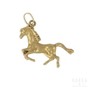 Wisiorek w formie konia, XX wiek
