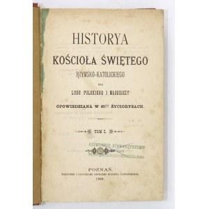 HISTORYA Kościoła Świętego rzym.-kat. dla ludu polskiego i młodzieży w życiorysach
