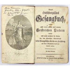 NEUESHirschbergisches Gesangbuch...Jeleniogórski śpiewnik ewangelicki. 1812
