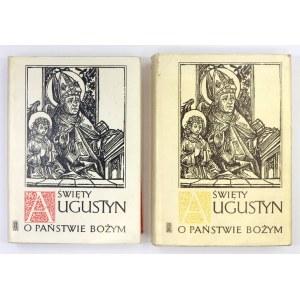 ŚWIĘTY Augustyn - O państwie Bożym. Przeciw poganom ksiąg XXII. T. 1-2