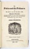 STRASZEWICZ Die Polen und die Polinnen der Revolution vom 29. November 1830. Tekst