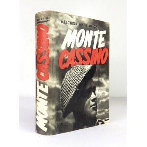 WAŃKOWICZ Melchior - Monte Cassino. Wyd. I. Oprac. graf. Mieczysław Berman