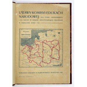 USTAWY Komisyi Edukacyi Narodowej dla stanu akademickiego...1902