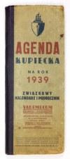 AGENDA Kupiecka na rok 1939.
