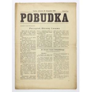 POBUDKA. Lwów, 22 XI 1938.