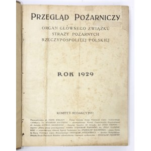 PRZEGLĄD Pożarniczy. 1929