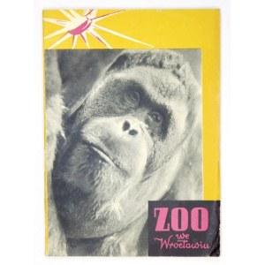 ŁUKASZEWICZ Karol - Przewodnik po ogrodzie zoologicznym we Wrocławiu. Warszawa 1957. Wyd. Sport i Turystyka. 8, s....