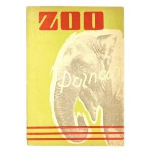 PRZEWODNIK po ogrodzie zoologicznym w Poznaniu. Poznań 1956. Nakł. Poznańskiego Ogrodu Zoologicznego. 8, s. 56,...