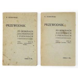 SOSNOWSKI K. - Przewodnik po Beskidach Zachodnich...1930