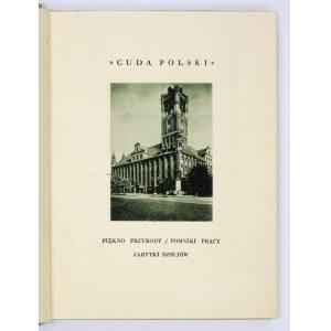 SMOLEŃSKI Jerzy - Morze i Pomorze. Poznań [1928]. Wydawnictwo Polskie (R. Wegner). 8, s. [XVI, 139, [3]...