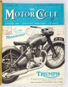 [MOTOCYKL] The Motor Cycle. Magazyn o motocyklach. 35 numerów z 1954