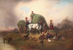 Wilhelm Alexander Meyerheim (1815 Gdańsk - 1882 Berlin), Sianokosy
