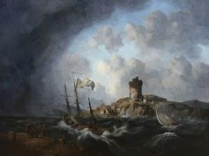 Johannes Hermanus Koekkoek (1778 Veere - 1851 Amsterdam), U wybrzeża