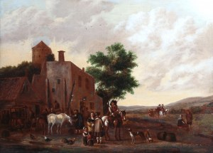 Cornelis van Essen (XVII/XVIIIw.), Scena rodzajowa