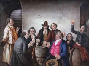 Artysta nieokreślony (XIX w.), Scena w karczmie, 1868 r.