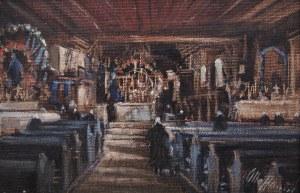 Otto Hamel (1866 Erfurt-1950), Wnętrze pomorskiego kościoła