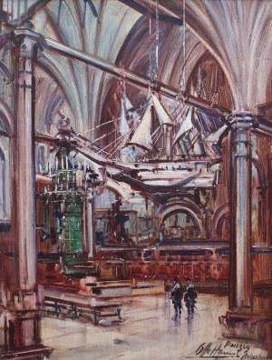 Otto Hamel (1866 Erfurt-1950), Wnętrze Dworu Artusa w Gdańsku