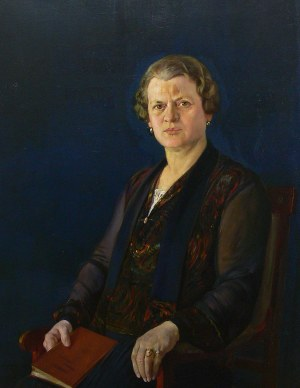 Stefan Matejko (1871-1933), Portret kobiety, 1927 r.