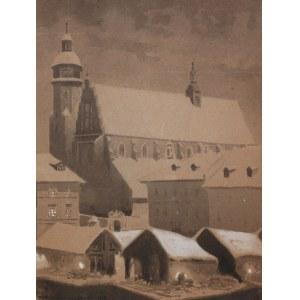 Stanisław Fabijański (1865 Paryż - 1947 Kraków), Kościół Bożego Ciała w Krakowie, 1918 r.
