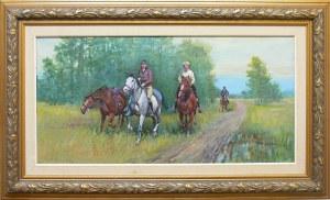 Mieczysław Krzyżak (1914-1984), Jeźdźcy na koniach