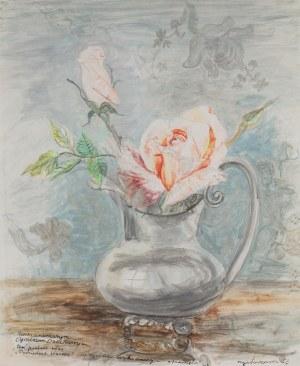 Maja Berezowska (1893 lub 1898 Baranowicze-1978 Warszawa), Róże