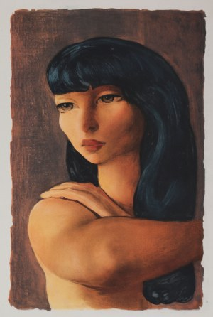 Mojżesz Kisling (1891 Kraków - 1953 Sanary-sur-Mer), Portret kobiety
